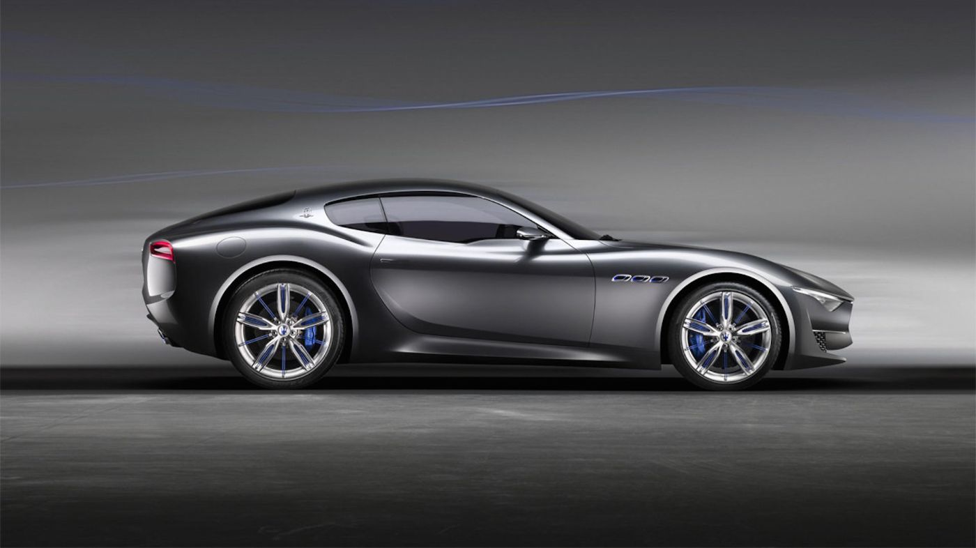Alfieri Concept Car - The Car anticipating the Future | Maserati