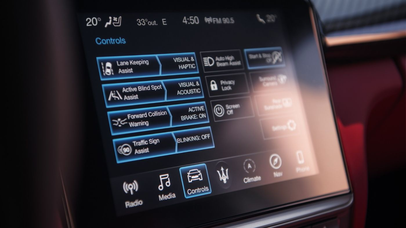 Maserati Ghibli - Safety and Advanced Driving Assistance Systems