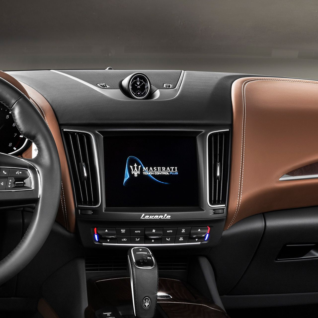 Maserati Levante Innenausstattung - Display - Infotainment und App-Connectivity