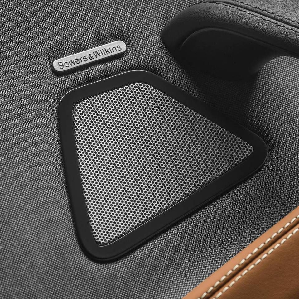 Maserati Ghibli - Bowers & Wilkins Surround Sound system: speaker's details