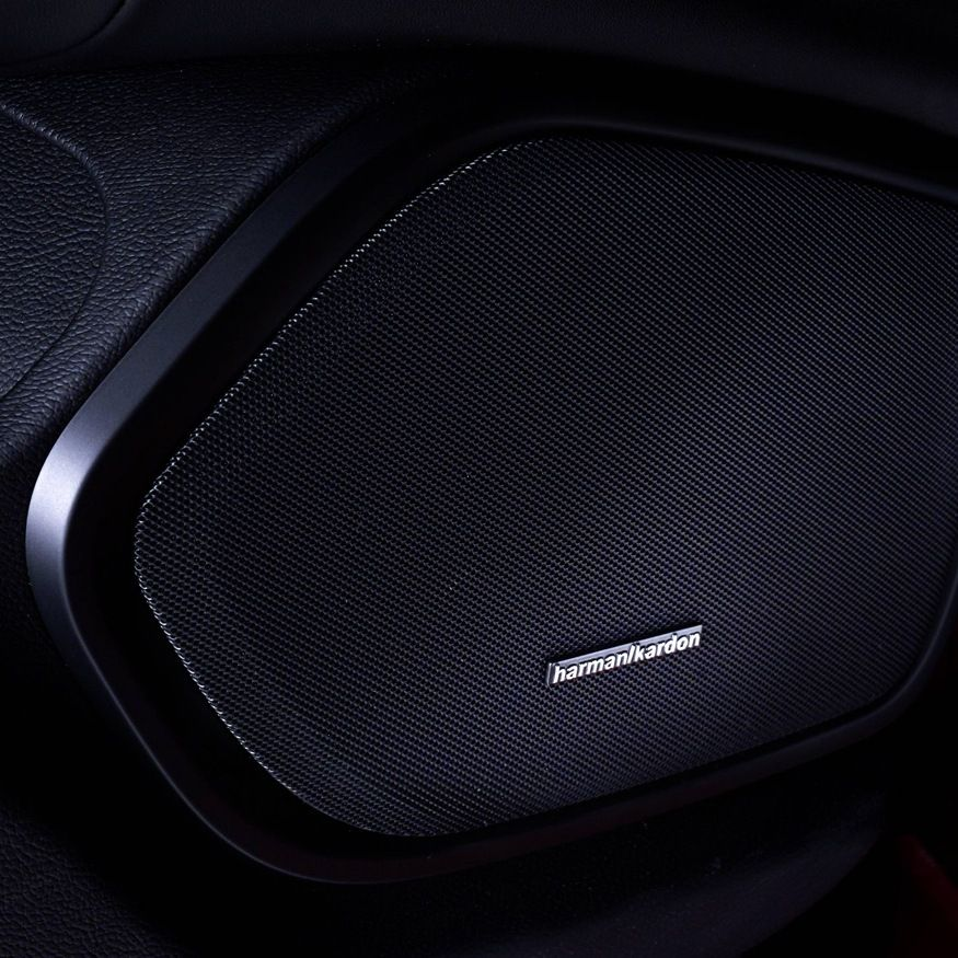 Premium car sound system Harman Kardon on Maserati Ghibli