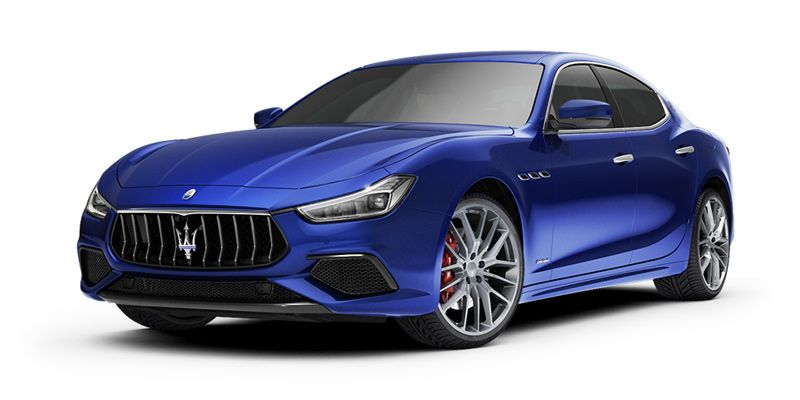 The mid-size sedan Maserati Ghibli