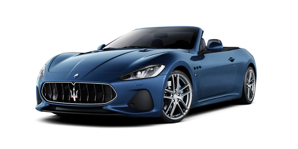 The coupé convertible Maserati GranCabrio