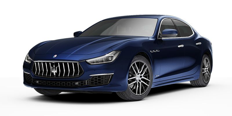 Maserati Ghibli Diesel in Blu color