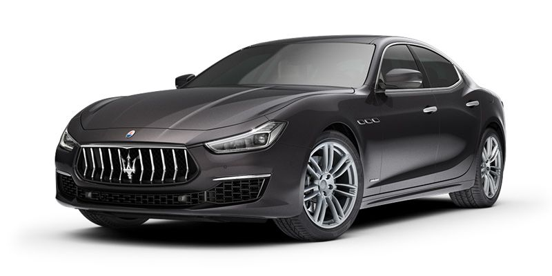 Maserati Ghibli S in Nero color