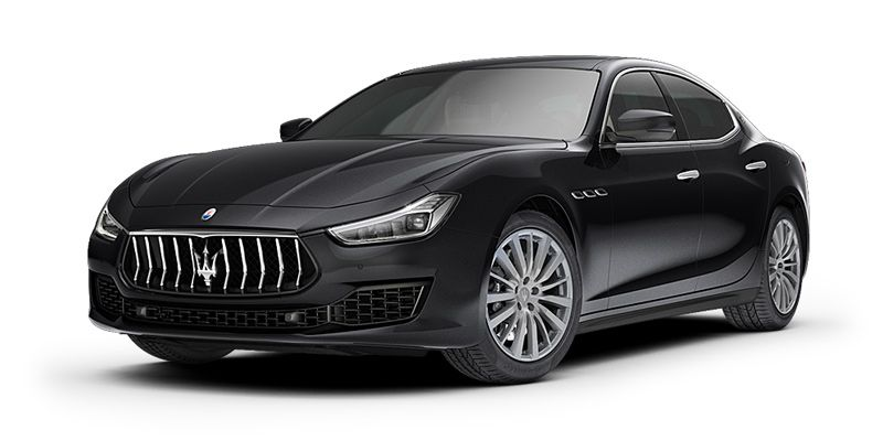 Maserati Ghibli in Nero color