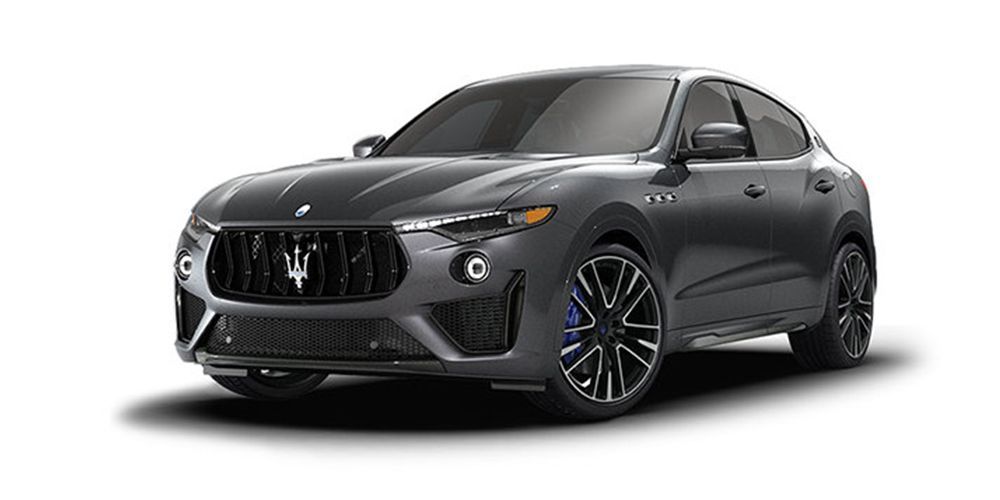 Maserati Levante - front and side view