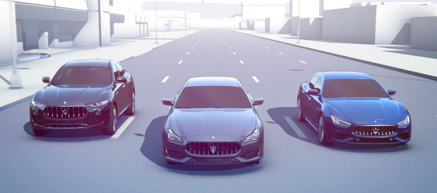 Maserati Surround View Camera - how it works