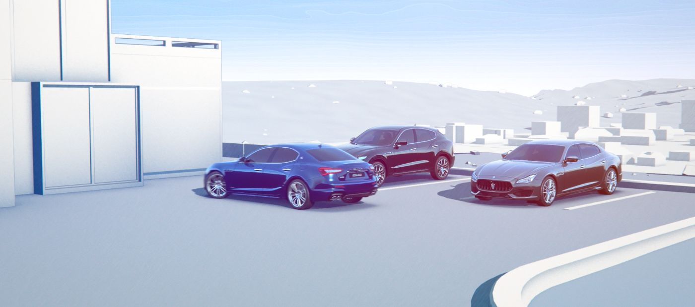 Surround View Camera and parking sensors - Maserati parking