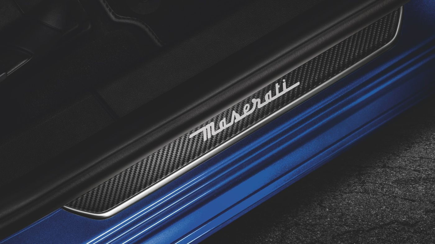 Maserati accessories and customisation - Carbon Doorsill Plates