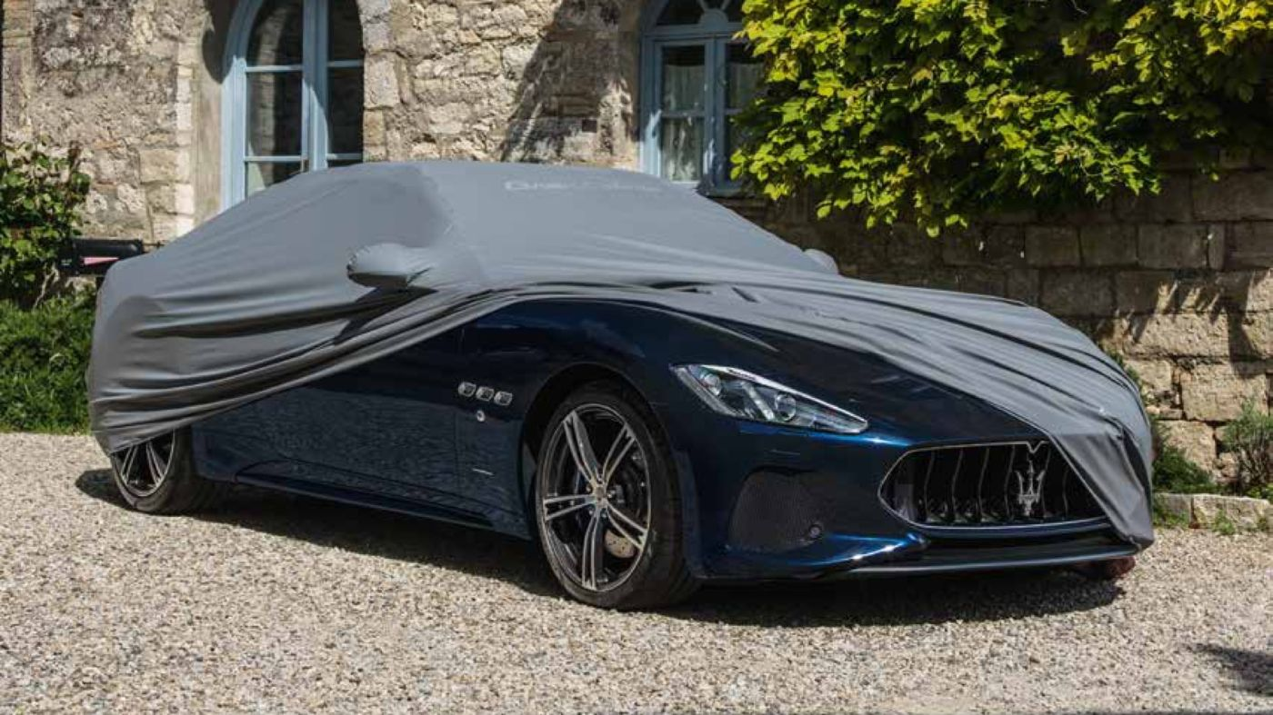Maserati GranCabrio accessories - car cover