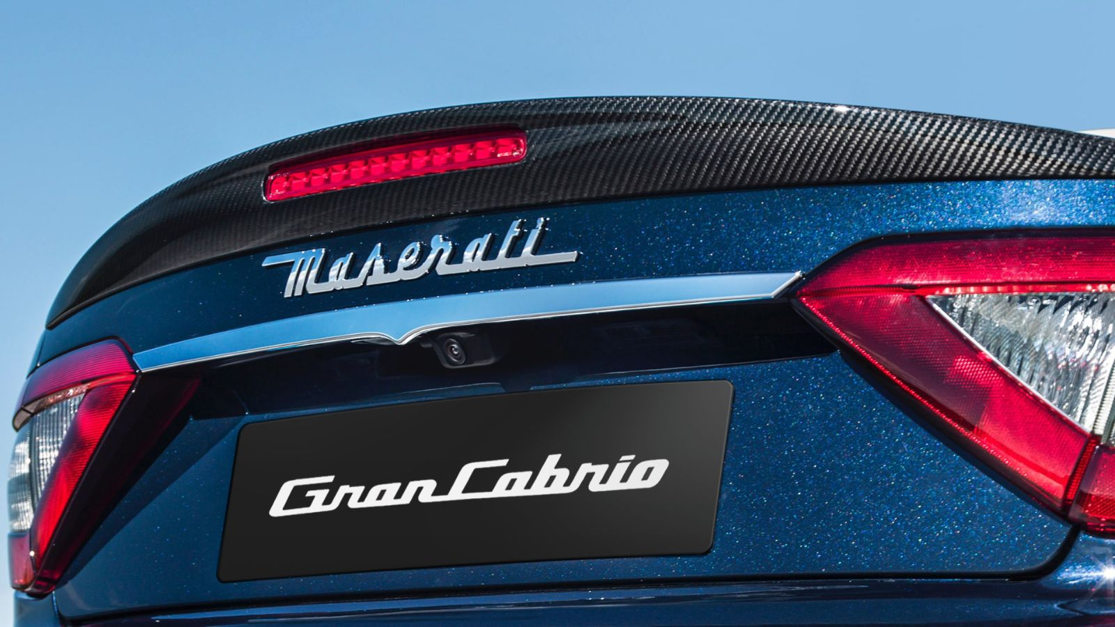 Maserati GranCabrio accessories - exterior carbon package retrofit, spoiler