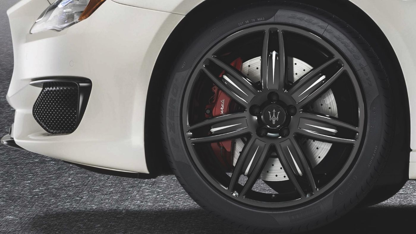 Maserati Quattroporte tyres and rims