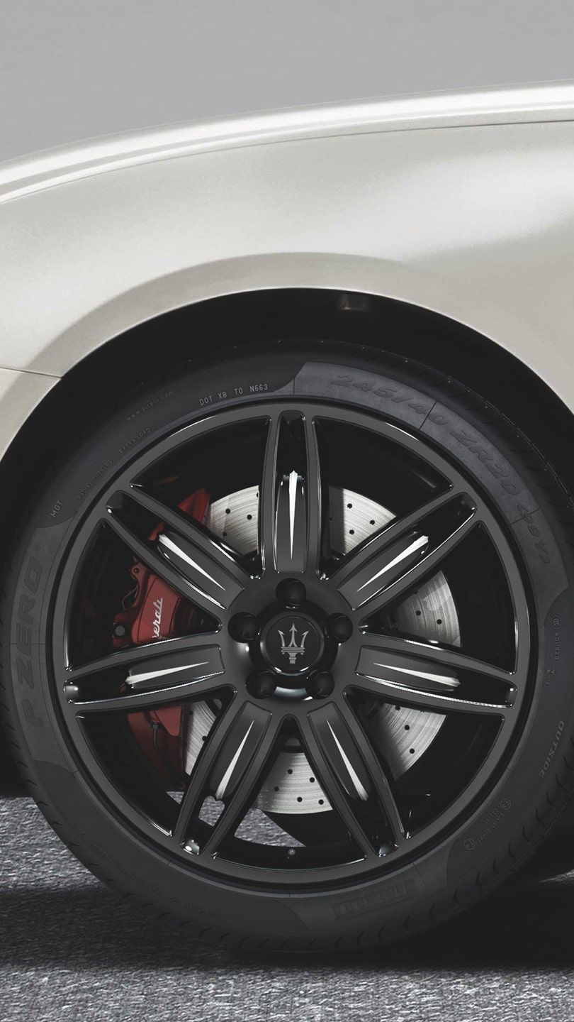 Maserati Quattroporte wheel accessories - rims and tyres