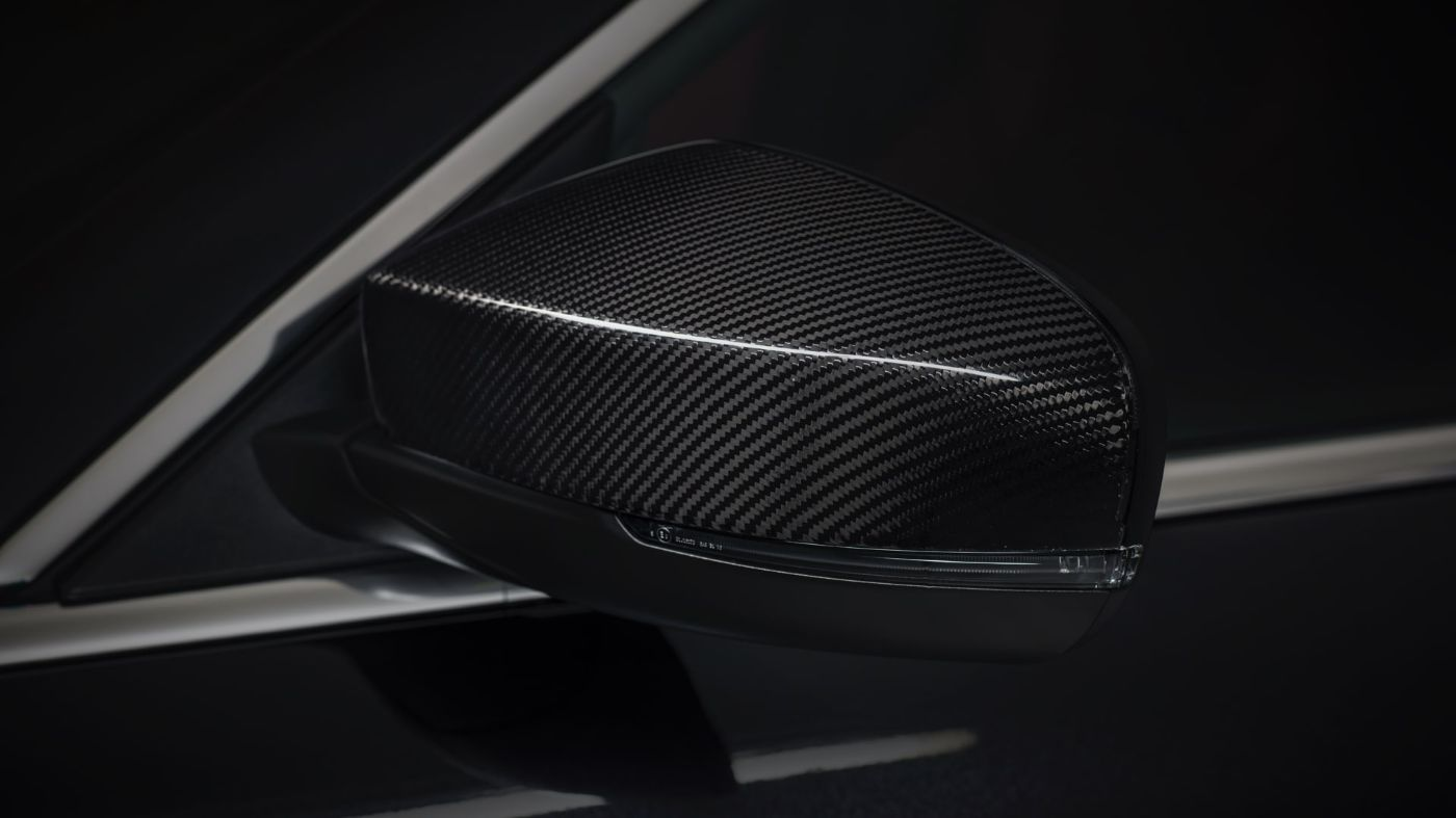 Maserati Quattroporte accessories - Exterior Carbon Package, side mirror