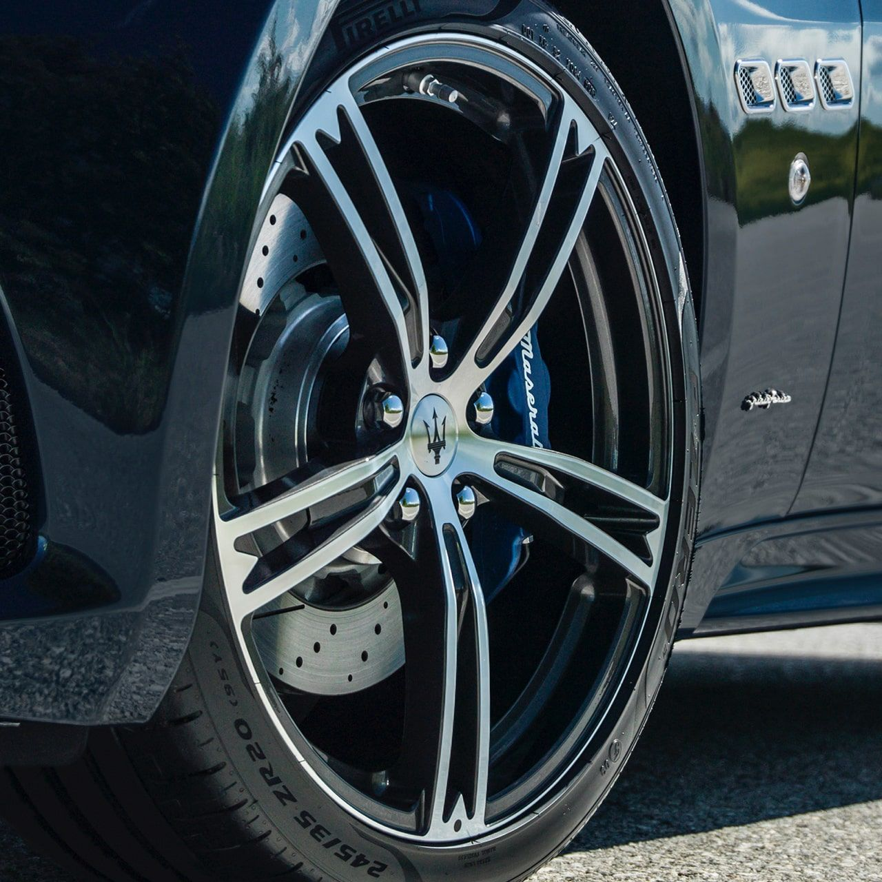 Maserati GranCabrio tyres and rims