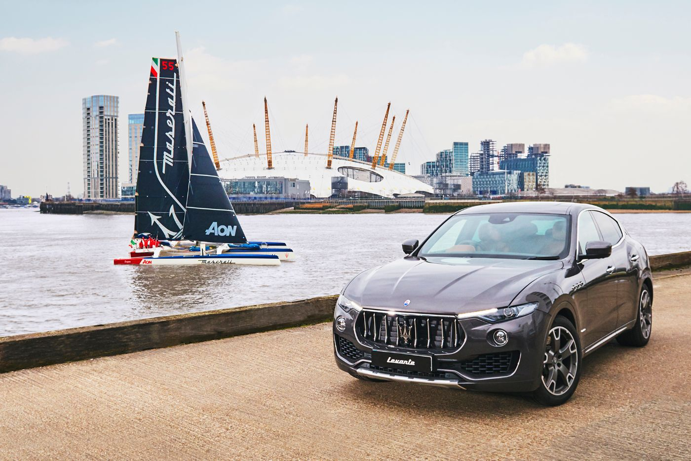Maserati Multi 70 - Tea Route HongKong London 2018 - Levante MY18