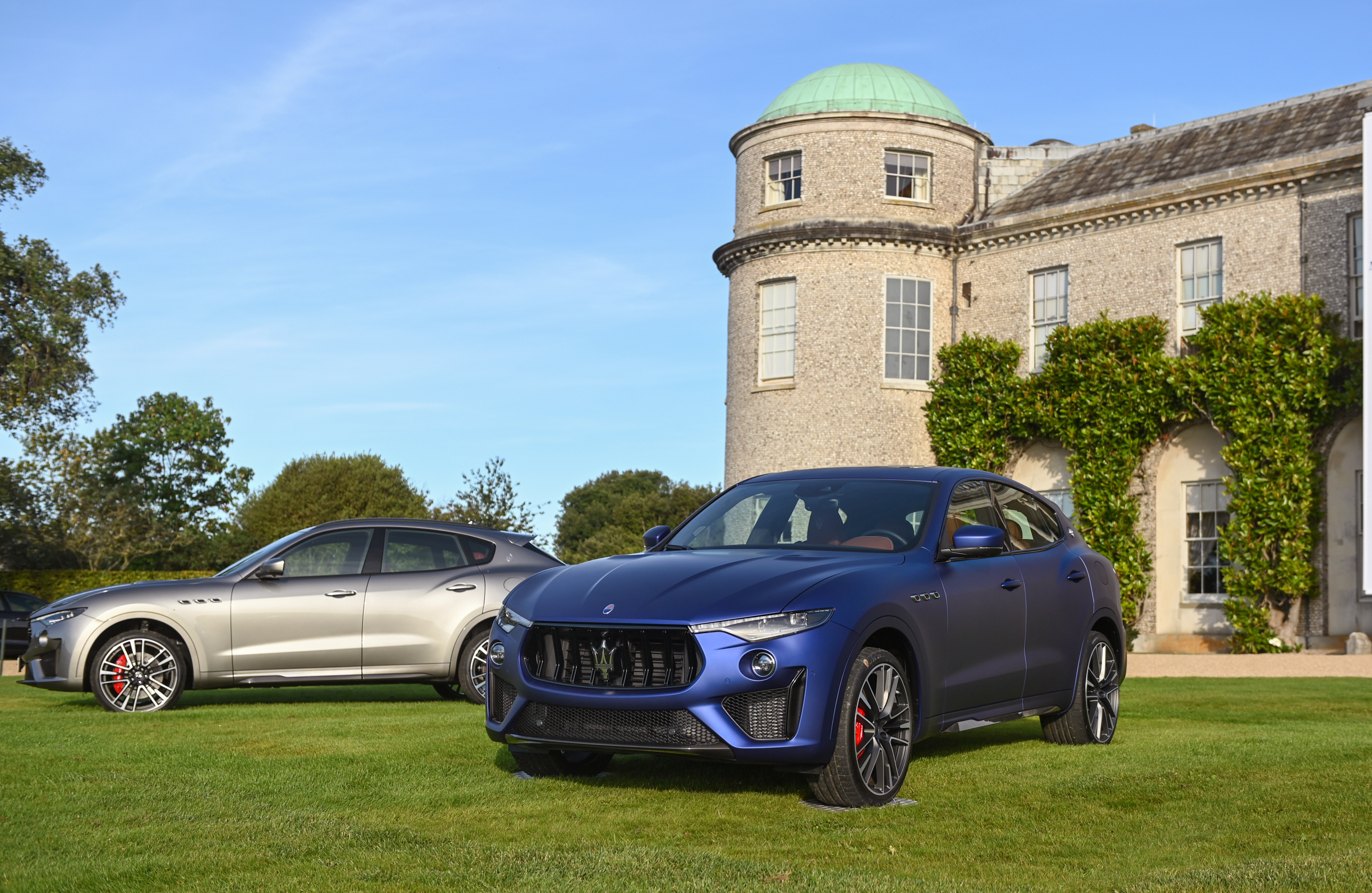 Maserati at Goodwood Revival - Goodwood House