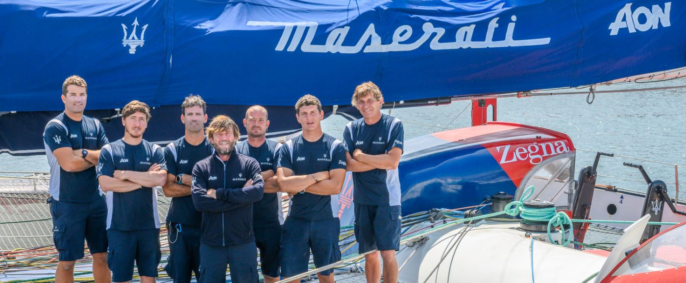 Maserati Multi 70 - Team 2019 - Transpacific Yacht Race