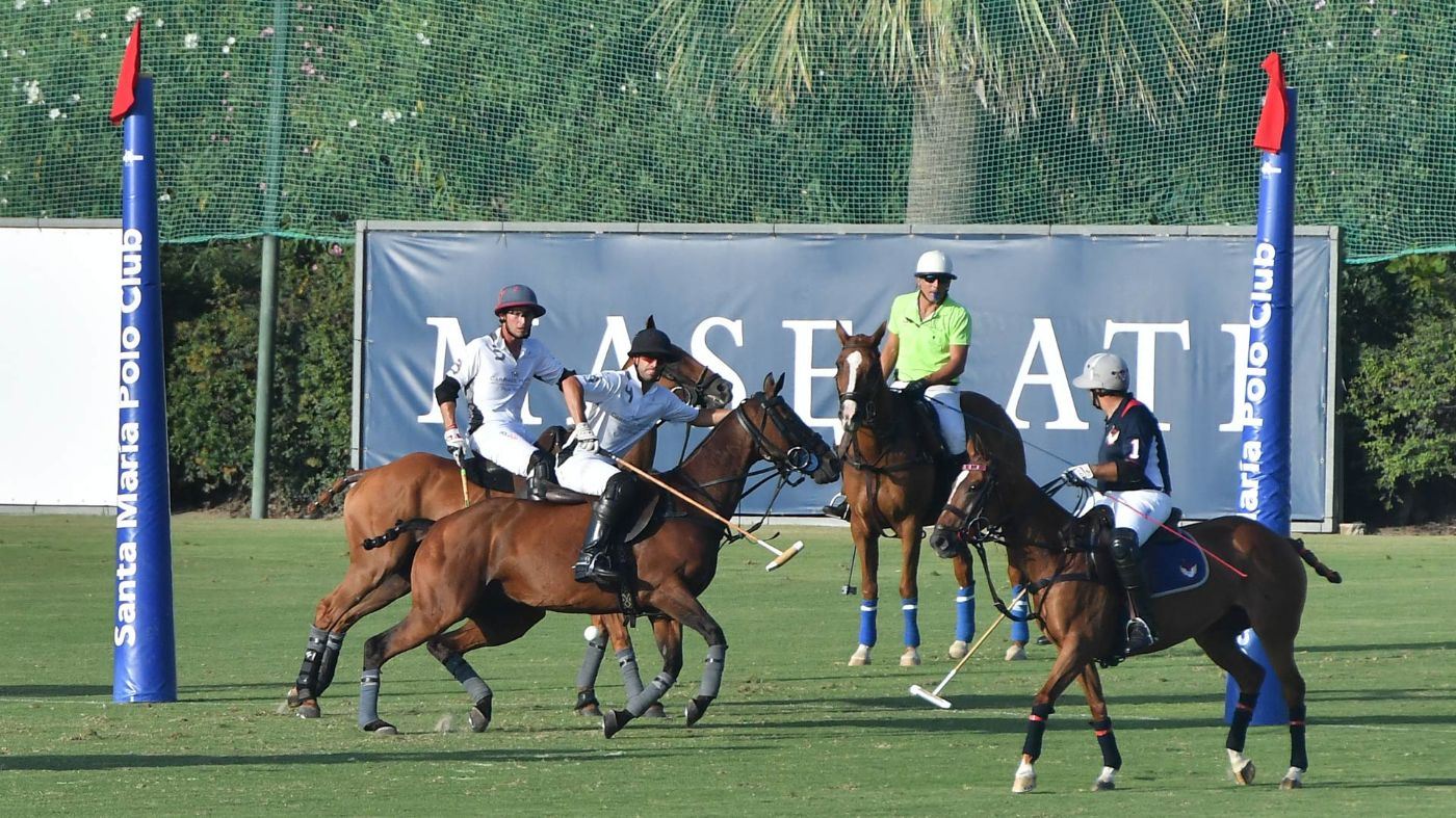 Maserati Gold Cup Final at 47. International Polo Tournament in Sotogrande